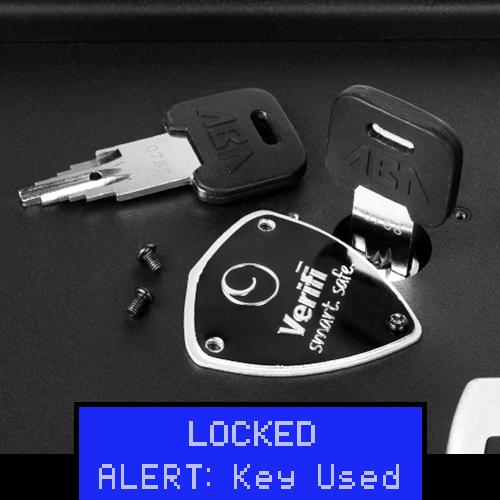 Backup Key Access Alert